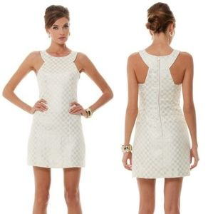 Lilly Pulitzer Jepson Metallic Dress